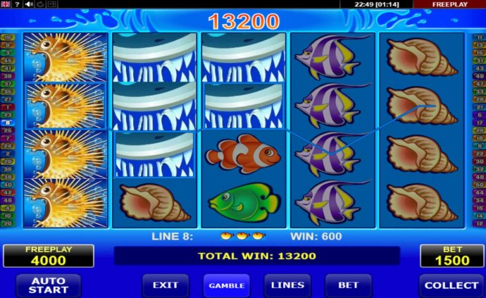 Wild Shark by No Deposit Casino Guide