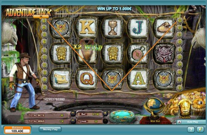 No Deposit Casino Guide image of Adventure Jack
