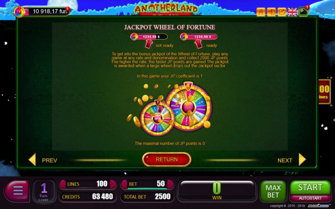 No Deposit Casino Guide image of Anotherland 7 Days
