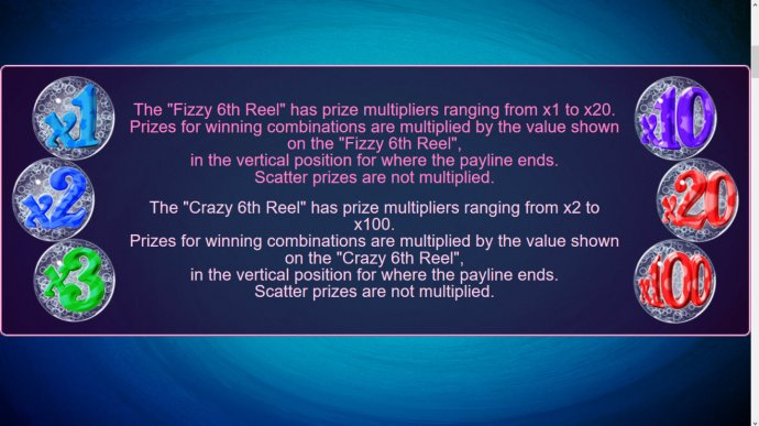 No Deposit Casino Guide - Fizzy Bet and Crazy Bet Feature Rules