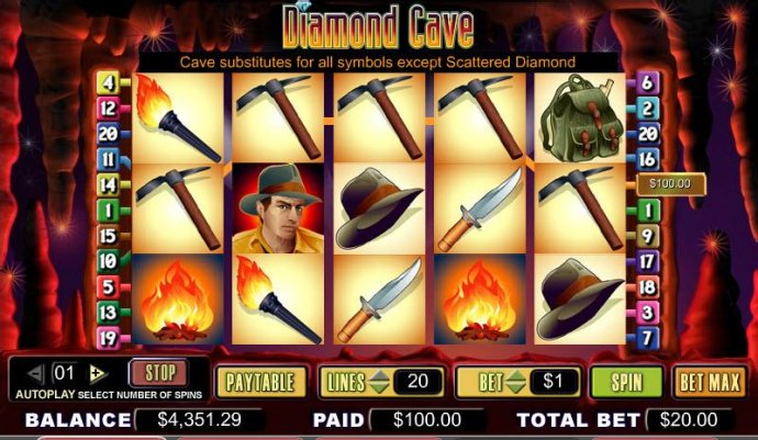 Diamond Cave screenshot