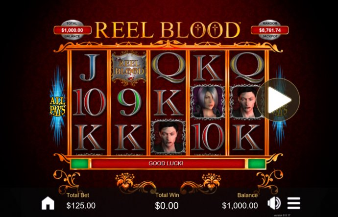 No Deposit Casino Guide image of Reel Blood