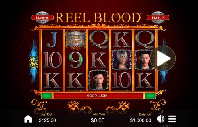 No Deposit Casino Guide image of Reel Blood