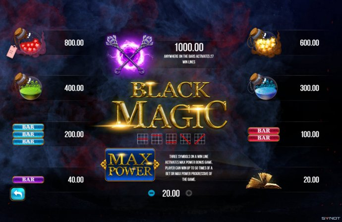 Black Magic screenshot
