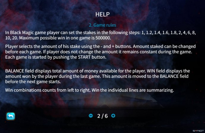 No Deposit Casino Guide image of Black Magic