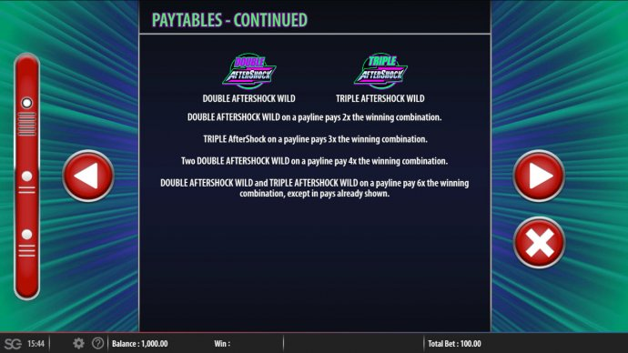 Aftershock by No Deposit Casino Guide