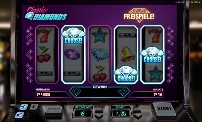 No Deposit Casino Guide - Free Spins Feature Triggered
