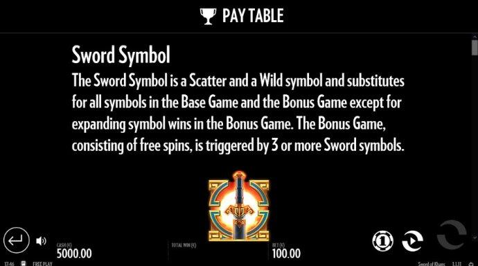 No Deposit Casino Guide image of Sword of Khans