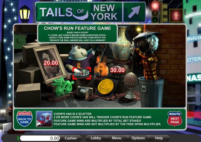 No Deposit Casino Guide image of Tails of New York