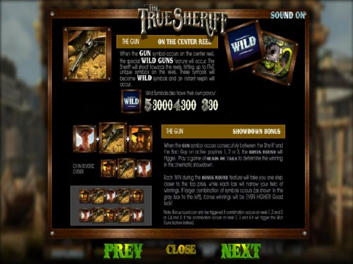 The True Sheriff by No Deposit Casino Guide