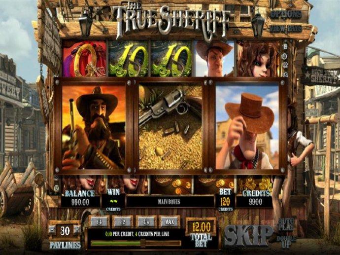 No Deposit Casino Guide - showdown bonus feature triggered when all three symbols appear on the game board