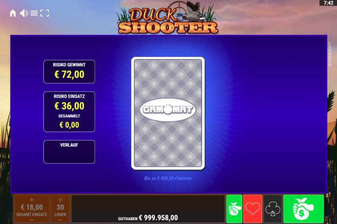 Red or Black Gamble feature - No Deposit Casino Guide