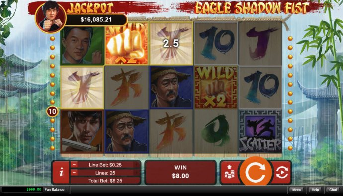 Images of Eagle Shadow Fist