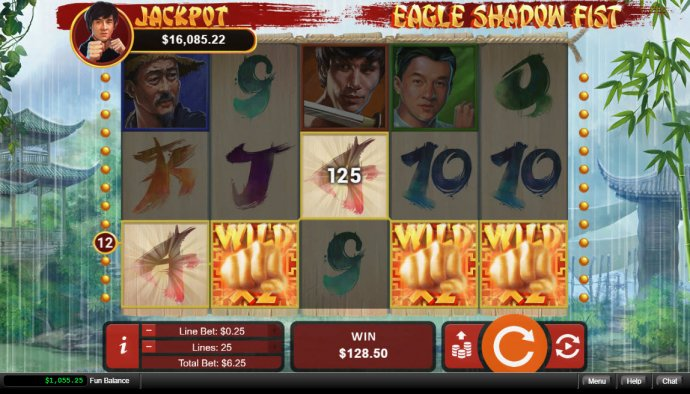 No Deposit Casino Guide image of Eagle Shadow Fist