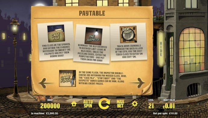 No Deposit Casino Guide image of Inspector