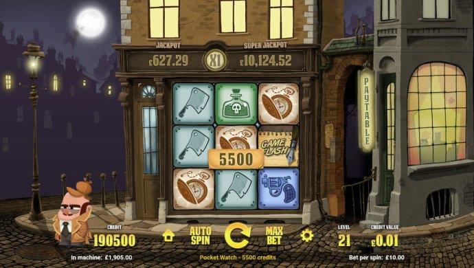 A 5500 coin big win triggered - No Deposit Casino Guide
