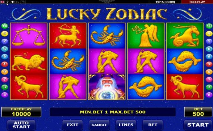 No Deposit Casino Guide image of Lucky Zodiac