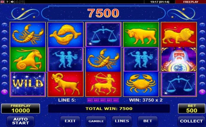 A winning Five of a Kind - No Deposit Casino Guide