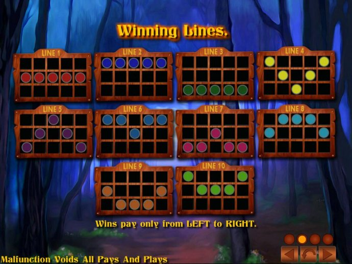 Page of Fortune Deluxe screenshot