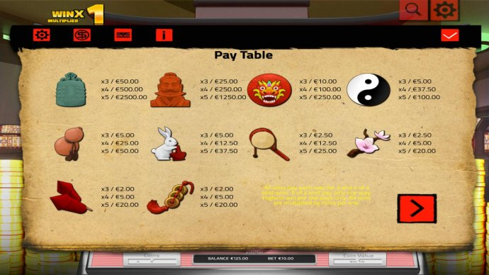 Ancient China by No Deposit Casino Guide