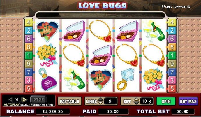 Love Bugs by No Deposit Casino Guide