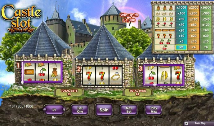 Castle Slot screenshot