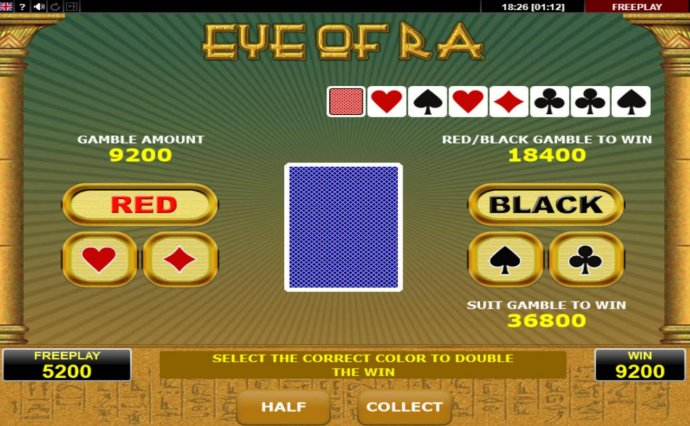 No Deposit Casino Guide image of Eye of Ra