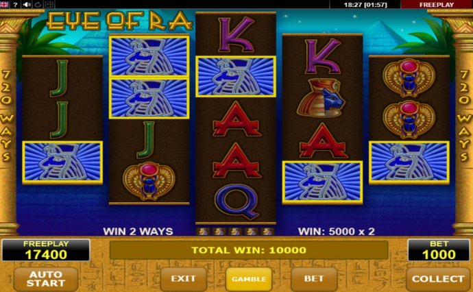 Eye of Ra by No Deposit Casino Guide