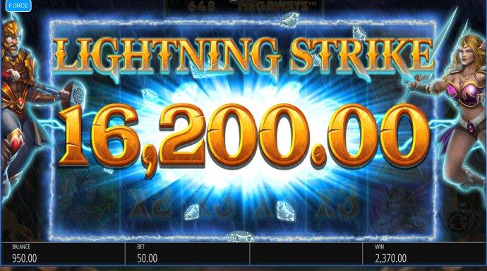 No Deposit Casino Guide image of Lightning Strike Megaways