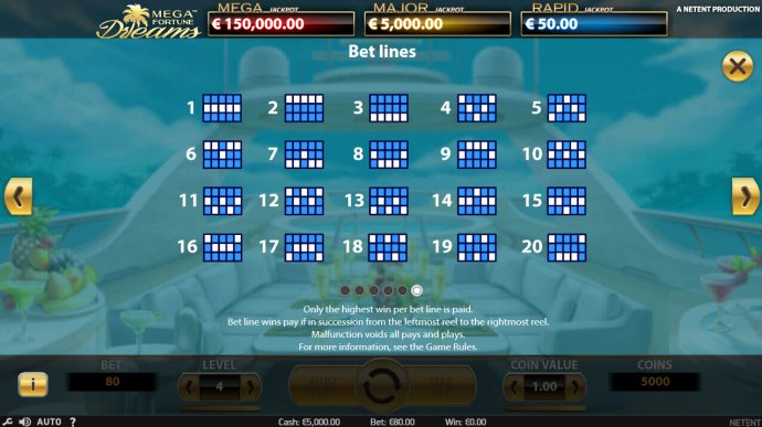 Paylines 1-20 by No Deposit Casino Guide