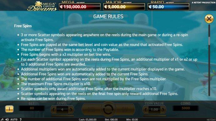 Mega Fortune Dreams by No Deposit Casino Guide