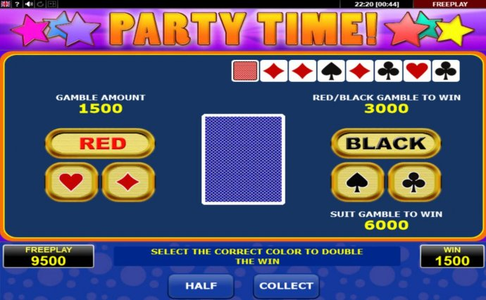 Party Time by No Deposit Casino Guide