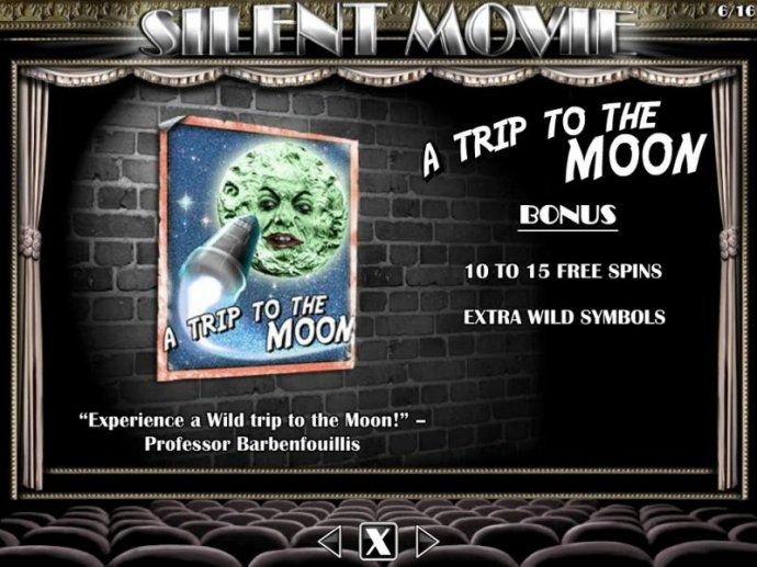 A Trip to the Moon Bonus - 10 to 15 free spins with extra wild symbols. - No Deposit Casino Guide
