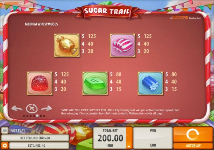 No Deposit Casino Guide image of Sugar Trail