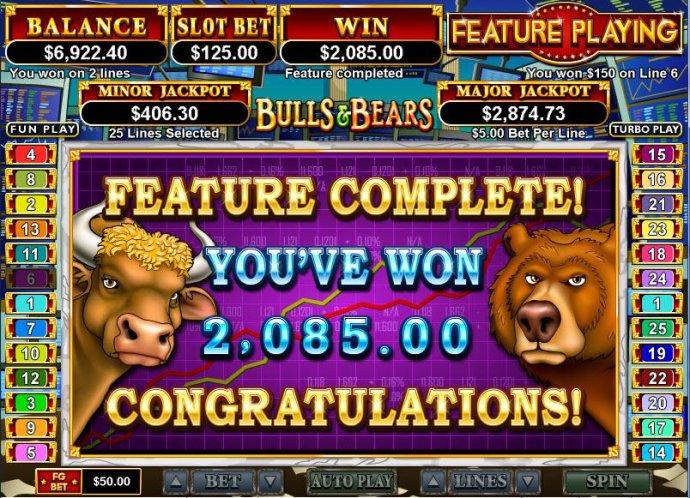 No Deposit Casino Guide - bonus feature win