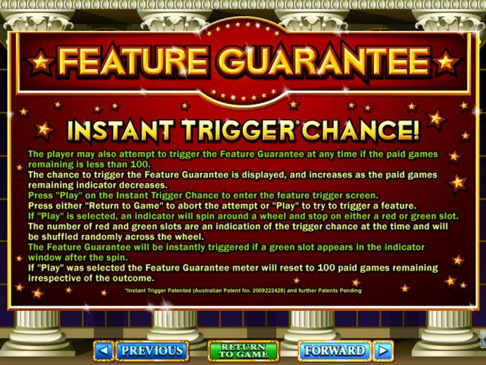 Instant Trigger Chance Rules - No Deposit Casino Guide