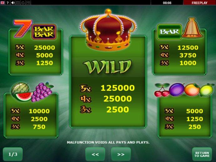 King's Crown screenshot