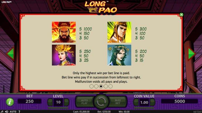 Long Pao screenshot