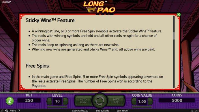 Long Pao by No Deposit Casino Guide