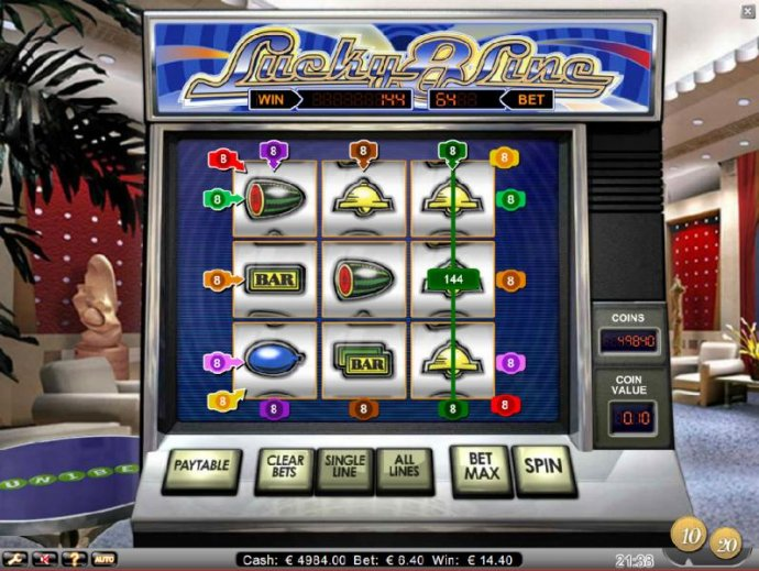No Deposit Casino Guide image of Lucky 8 Line