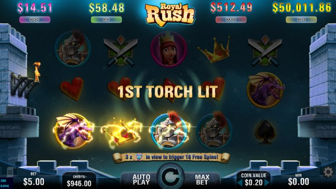 Royal Rush screenshot
