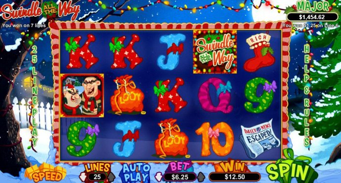 Swindle All the Way by No Deposit Casino Guide