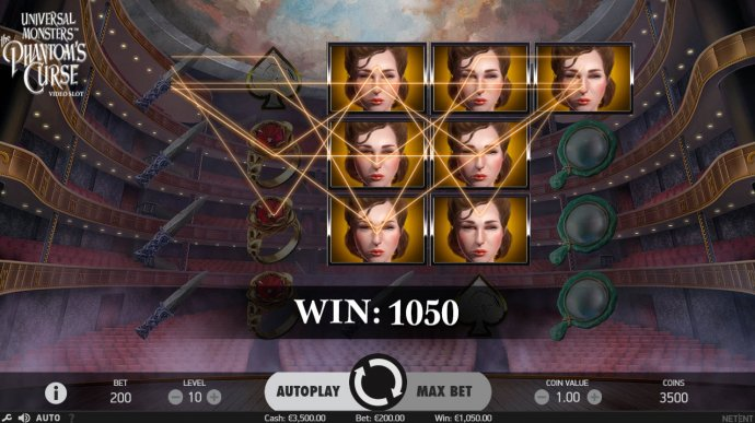 Universal Monsters The Phantom's Curse by No Deposit Casino Guide