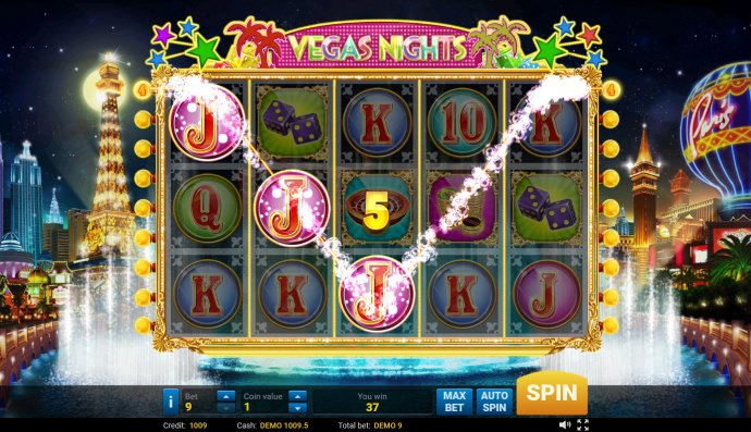 A winning three of a kind by No Deposit Casino Guide
