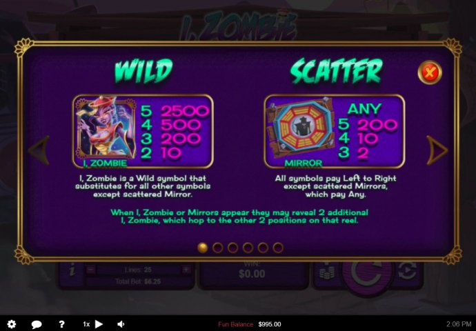 No Deposit Casino Guide image of I, Zombie