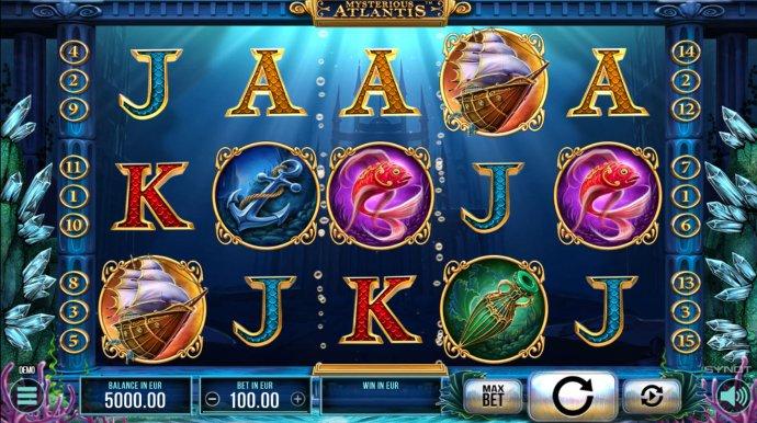 No Deposit Casino Guide image of Mysterious Atlantis