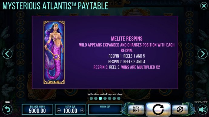 Mysterious Atlantis screenshot