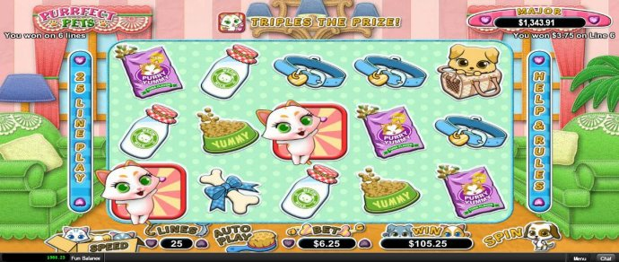 No Deposit Casino Guide image of Purrfect Pets