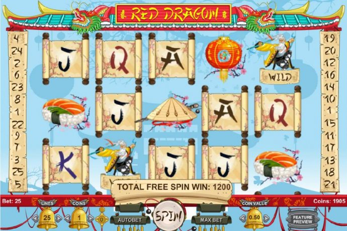 Red Dragon by No Deposit Casino Guide