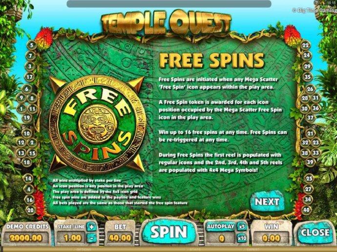 Temple Quest screenshot